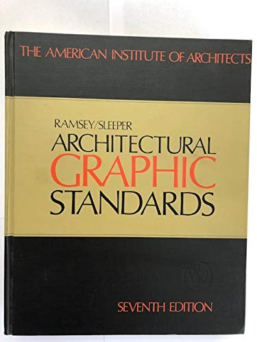 9780471046837: Architectural Graphic Standards - 7th Edition