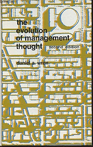 9780471046950: Evolution of Management Thought (Management & Administration)