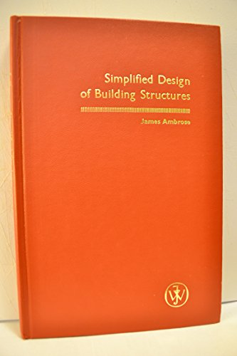 9780471047216: Simplified Design of Building Structures