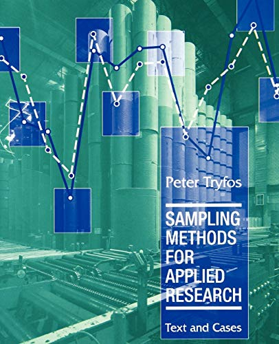 9780471047278: Sampling Methods for Applied Research: Text and Cases