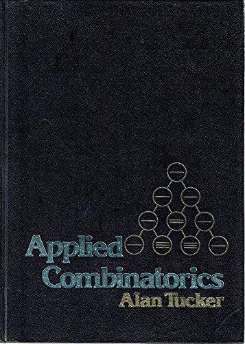9780471047667: Applied Combinatorics