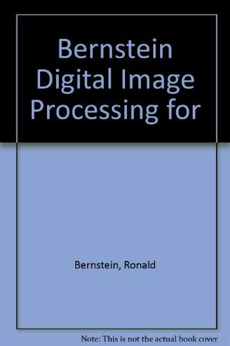 Digital image processing for remote sensing (0471049395) by Ronald Bernstein