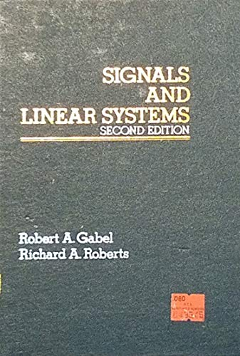 9780471049586: Signals and Linear Systems