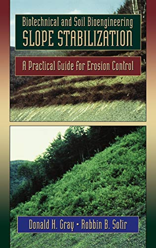 9780471049784: Slope Stabilization: Practical Guide for Erosion Control (Civil Engineering)