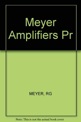 9780471050698: Integrated-Circuit Operational Amplifiers (IEEE Press Selected Reprint Series)