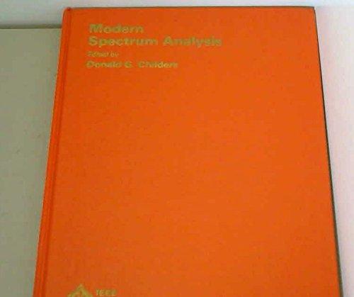 9780471050704: Modern Spectrum Analysis (IEEE Press selected reprint series)