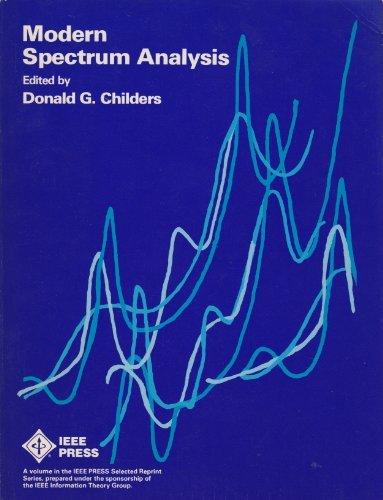 9780471050711: Modern Spectrum Analysis (IEEE Press Selected Reprint Series)