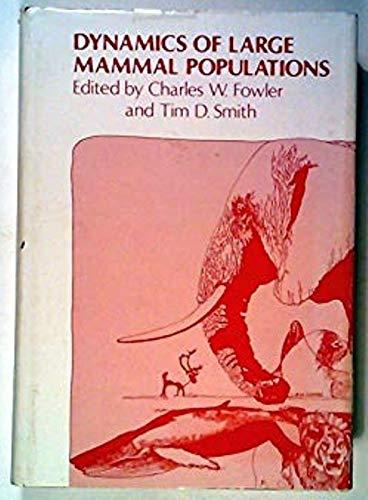 9780471051602: Dynamics of Large Mammal Populations