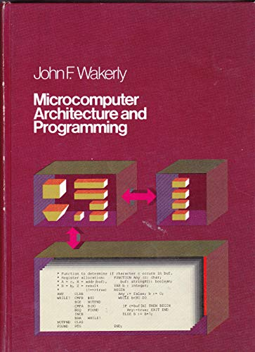 9780471052326: Microcomputer Architecture and Programming