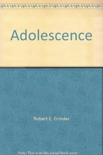 9780471052401: Adolescence