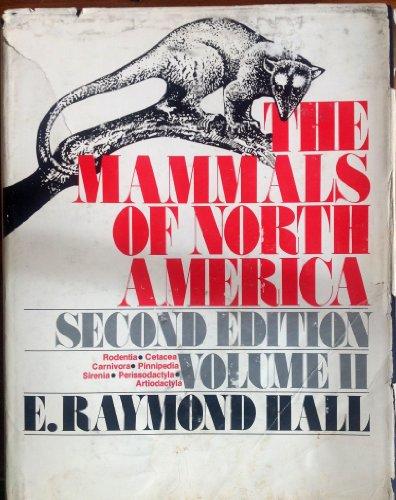 9780471054443: The Mammals of North America