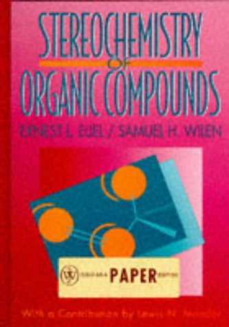 9780471054467: Stereochemistry of Organic Compounds : Edition en anglais