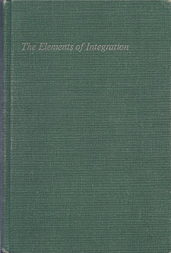 9780471054573: Elements of Integration