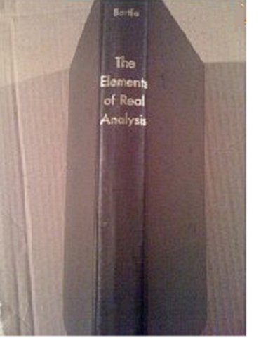 9780471054627: The Elements of Real Analysis