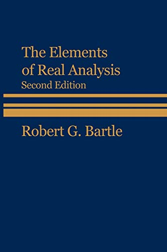 Real analysis bartle homework solutions