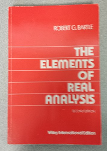 9780471054658: The Elements of Real Analysis