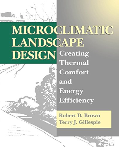 9780471056676: Microclimatic Landscape Design: Creating Thermal Comfort and Energy Efficiency