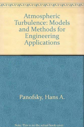 9780471057147: Atmospheric Turbulence: Models and Methods for Engineering Applications