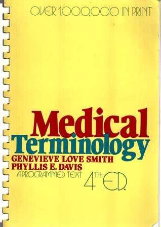 9780471058274: Medical Terminology: A Programmed Text