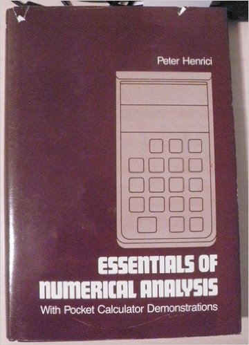 9780471059042: Essentials of Numerical Analysis with Pocket Calculator Demonstrations