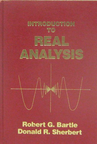 9780471059448: Introduction to Real Analysis