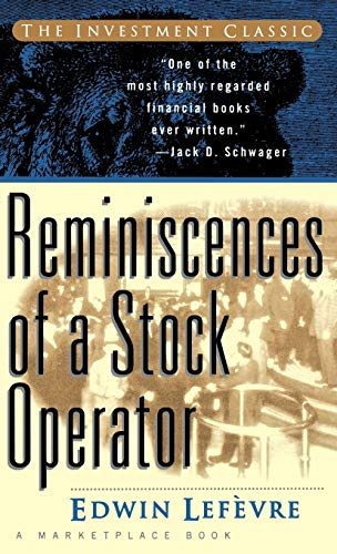 9780471059684: Reminiscences of a Stock Operator (Finance & Investments)