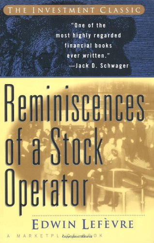 9780471059707: Reminiscences of a Stock Operator
