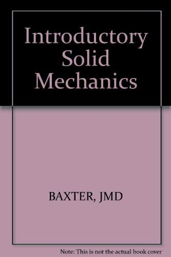 9780471059851: Introductory Solid Mechanics