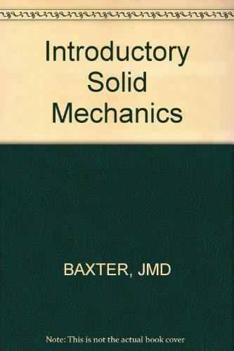 9780471059868: Introductory Solid Mechanics