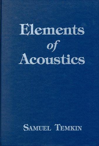 9780471059905: Elements of Acoustics