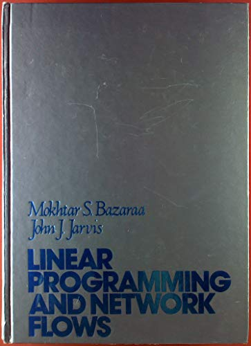 9780471060154: Linear Programming and Network Flows