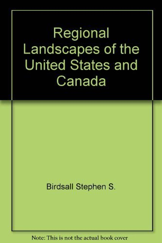 9780471060642: Regional landscapes of the United States and Canada