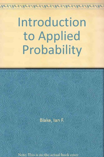 9780471060826: Introduction to Applied Probability