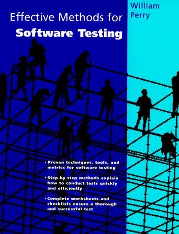 9780471060970: Effective Methods for Software Testing