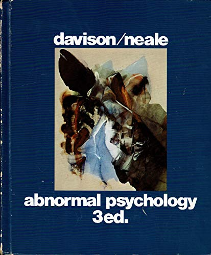 9780471061595: Abnormal Psychology