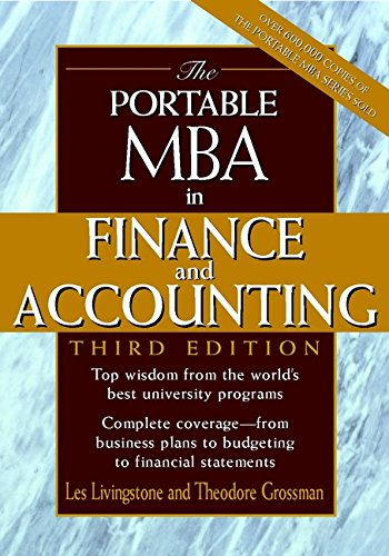 9780471061854: The Portable MBA in Finance and Accounting