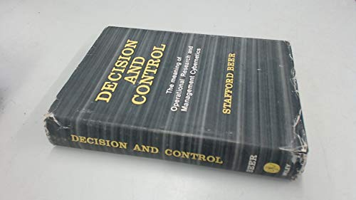 9780471062103: Decision and Control: The Meaning of Operational Research and Management Cybernetics