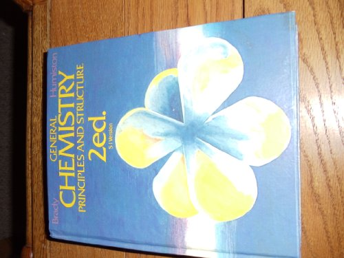 9780471063155: General Chemistry: Principles and Structure