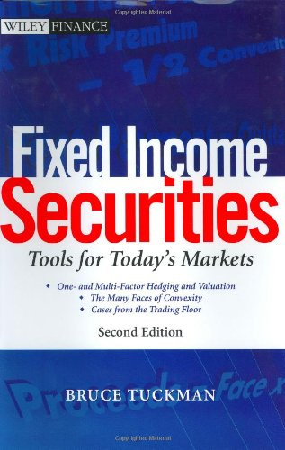 9780471063179: Fixed Income Securities: Tools for Today's Markets (Wiley Finance)