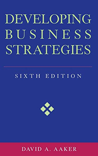 9780471064114: Developing Business Strategies