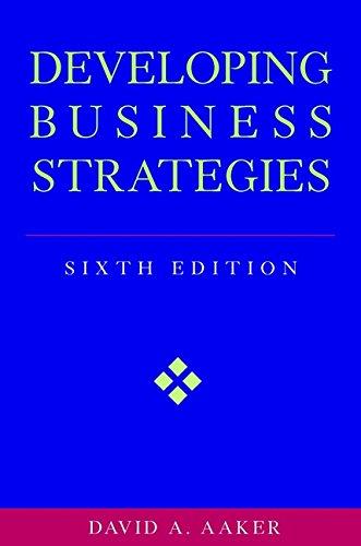 9780471064114: Developing Business Strategies