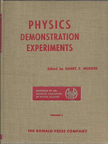 9780471067597: Physics Demonstration Experiments