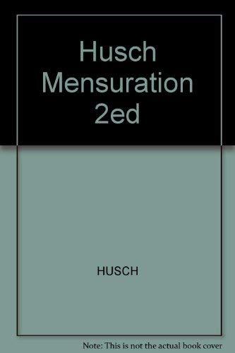 Forest mensuration: Husch, Bertram