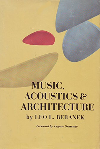 9780471068679: Music, Acoustics and Architecture