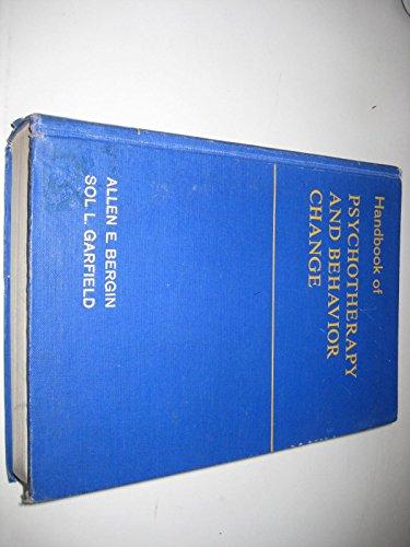 9780471069683: Handbook of Psychotherapy and Behavior Change