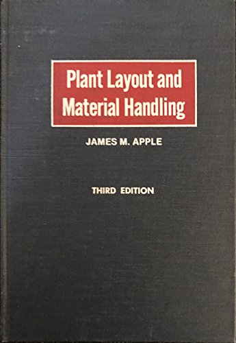 PLANT LAYOUT AND MATERIAL HANDLING: THIRD EDITION: APPLE, JAMES M.