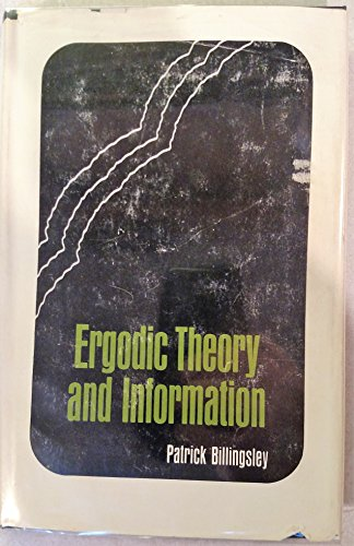 9780471072508: Ergodic Theory and Information ( Wiley Series in Probability and Mathematical Statistics)