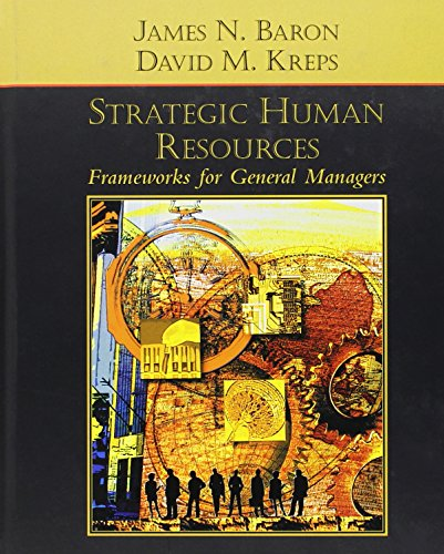 9780471072539: Strategic Human Resources: Frameworks for General Managers