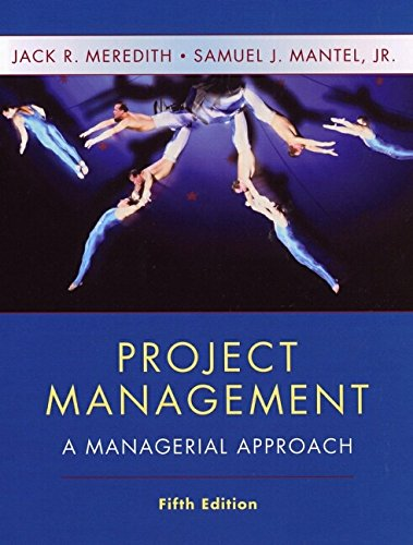 9780471073239: Project Management: A Managerial Approach