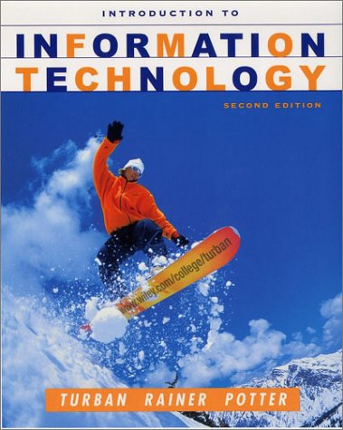 9780471073802: Introduction to Information Technology: World Student Edition